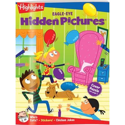 Hidden Pictures EAGLE-EYE Book Club