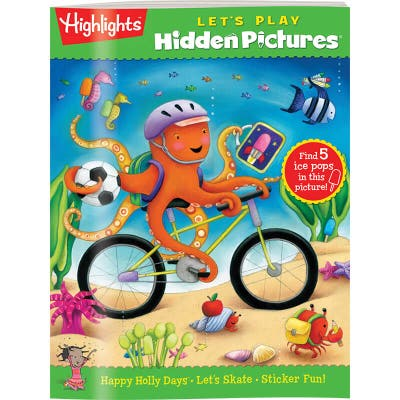 Hidden Pictures LET'S PLAY Book Club