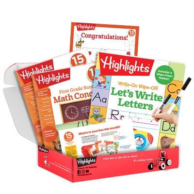 First Grade Subscription Box