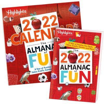 2022 Almanac of Fun + 2022 Almanac of Fun Calendar
