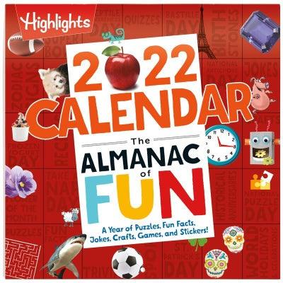 2022 Almanac of Fun Calendar