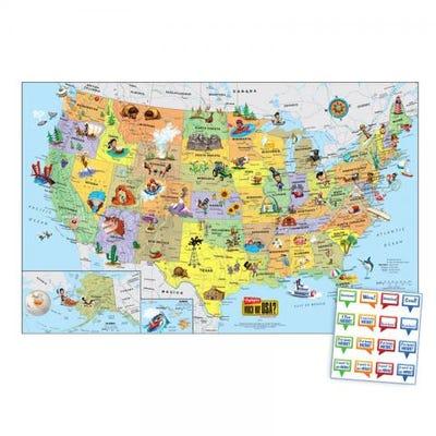 New U.S. Wall Map