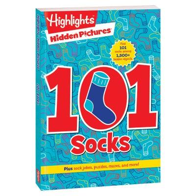 Hidden Pictures 101 Socks