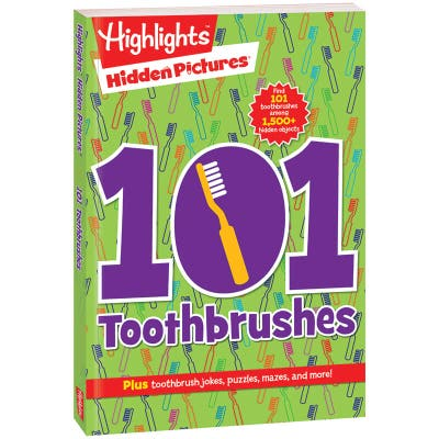 Hidden Pictures 101 Toothbrushes