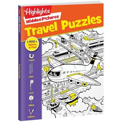 Hidden Pictures Travel Puzzles