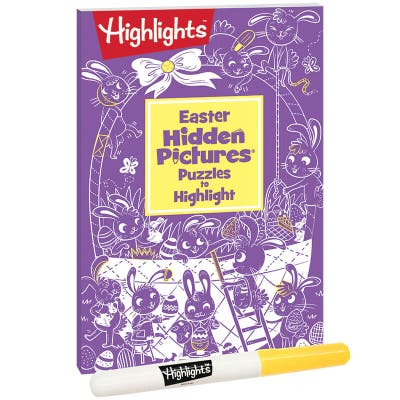 Easter Hidden Pictures Puzzles to Highlight