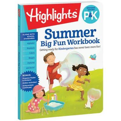 Summer Big Fun Workbook Bridging P & K