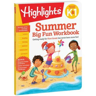 Summer Big Fun Workbook Bridging K & 1
