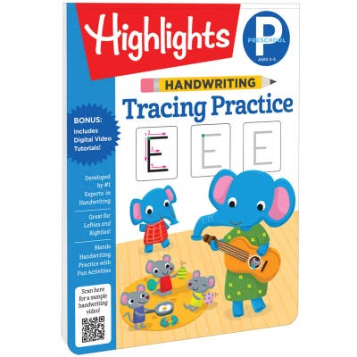 Handwriting Tracing Practice