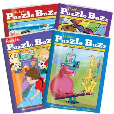 Puzzle Buzz 4-Book Set