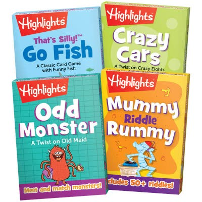 Highlights Classic Card Games Set of 4