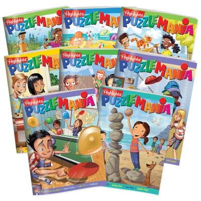 Puzzlemania 8-Book Set