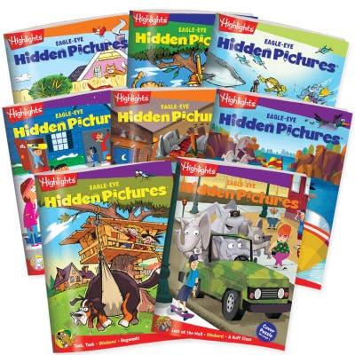 Hidden Pictures EAGLE-EYE 8-Book Set