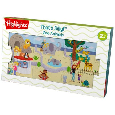 That's Silly! Zoo Animals Puzzle