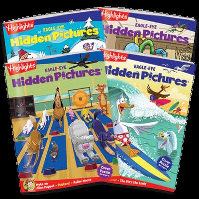 Hidden Pictures EAGLE-EYE 4-Book Set