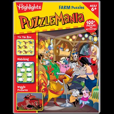Puzzlemania®: Farm Puzzles