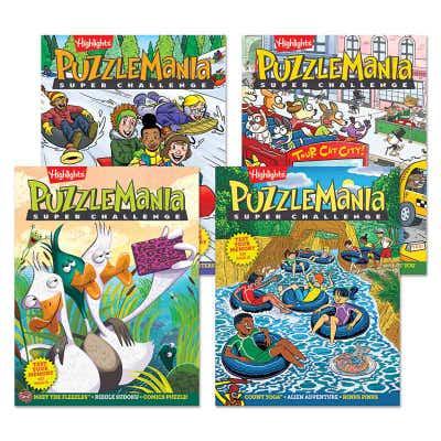 Puzzlemania Super Challenge 4-Book Set