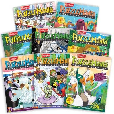 Puzzlemania Super Challenge 8-Book Set