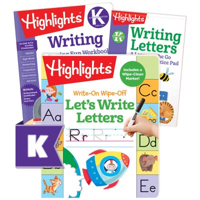 Writing Letters Learning Pack