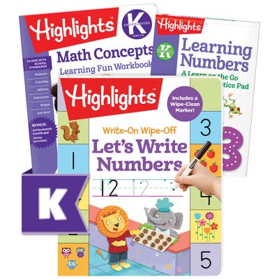 Numbers Learning Pack