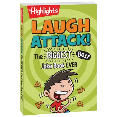 Laugh Attack - The Biggest and Best Joke Book Ever