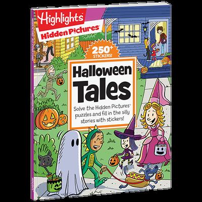 Hidden Pictures Silly Sticker Stories: Halloween Tales