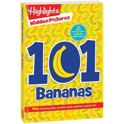 Hidden Pictures 101 Bananas