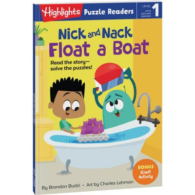 Nick and Nack Float a Boat