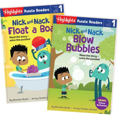 Nick and Nack 2-Book Set: Bubbles and Boat