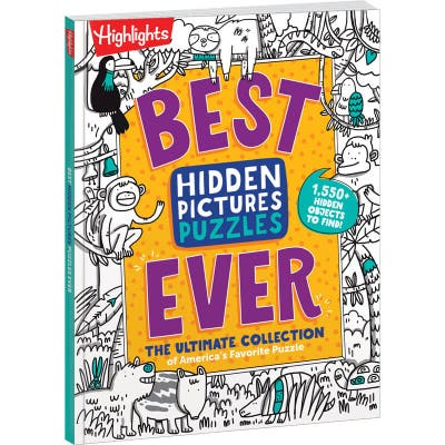 Best Hidden Pictures Puzzles Ever is a new addition to our puzzle books