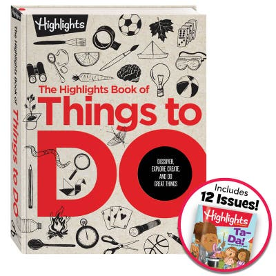 Highlights Book of Things to Do + Highlights Magazine Subscription