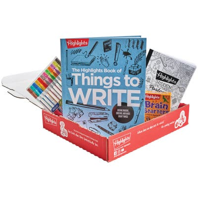 Book of Things to Write Gift Set in a box