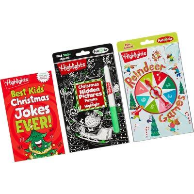 Christmas Fun to Go set with 3 books