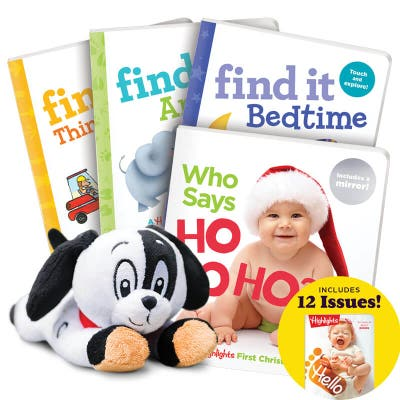 Deluxe Christmas Gift Set Ages 0-3
