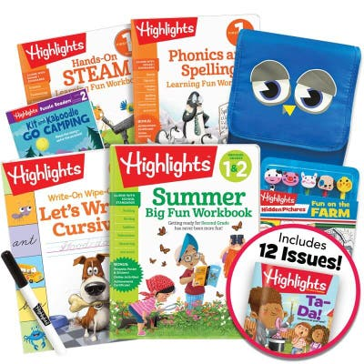Deluxe Summer Learning Pack 1-2