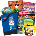 Halloween Gift Set with 3 books, deck of cards and tote bag