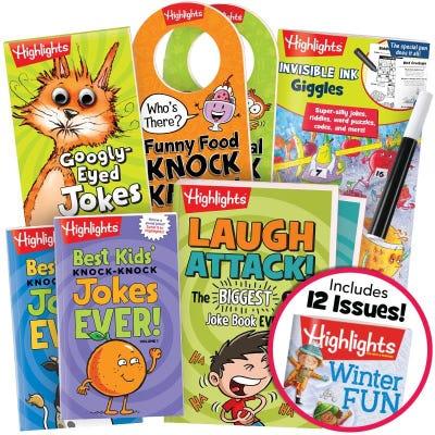 Deluxe Jokes & Riddles Gift Set