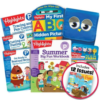 Deluxe Summer Learning Pack: Getting Ready for Preschool