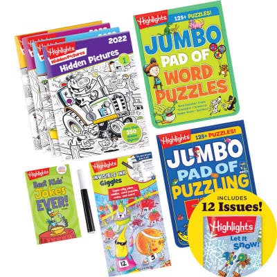 Deluxe Young Readers Set with 8 books and magazine subscription