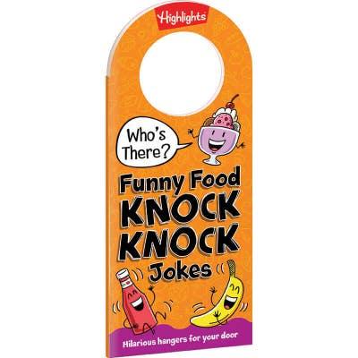 Funny Food Knock Knock Jokes book