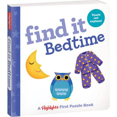 Find It Board Book: Bedtime