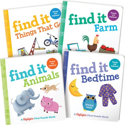 Find It Board Books Set of 4