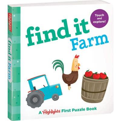 Find It Board Book: Farm