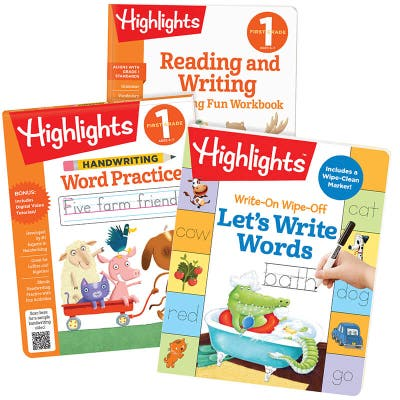 Writing Words Learning Pack, First Grade