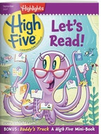 High Five Magazine One Year (12 Issues) Subscription