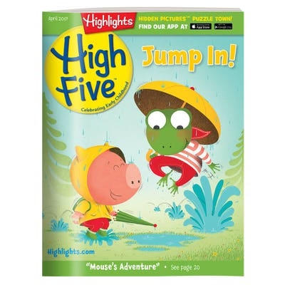 High Five Magazine One Year (12 Issues) Subscription + 1 FREE Gift