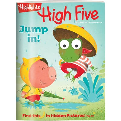 High Five Magazine 12 Month Subscription (+ 3 Free Issues)