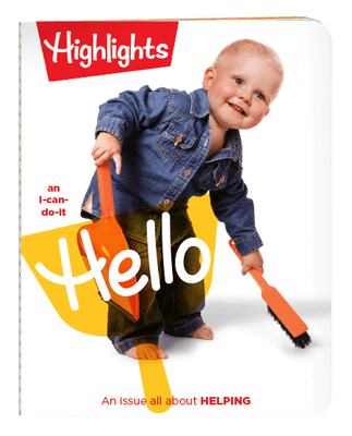 Highlights Hello Magazine One Year (12 Issues) Subscription + 2 FREE Gift