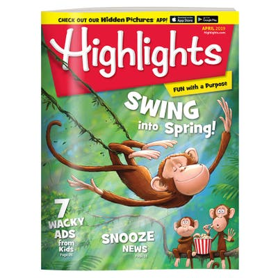 Highlights Magazine One Year (12 Issues) Subscription + 1 FREE Gift