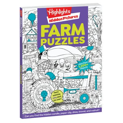 Highlights Hidden Pictures Favorites: Farm Puzzles